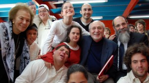 Peter Yarrow with kids