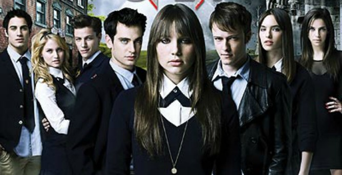 The cast of Israeli developed TV program Split, a supernatural high school drama about vampires now being picked up worldwide.