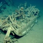 Researchers discovered the remains of a ship deep in the Mediterranean.