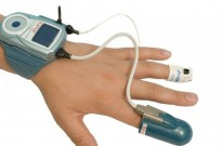 The WatchPAT measures oxygen levels, and snoring to enable doctors to monitor and diagnose sleep apnea at home.