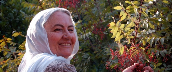 Feminist and path breaker, Gamila Hiar uses local herbs grown in the Galilee to produce her famous soaps.