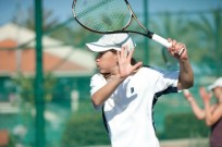 Yshai Oliel on the court in Israel. Photo courtesy of the David Squad
