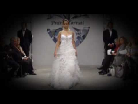 And the bride wore… a Pnina Tornai dress