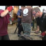 Israel's blacksmith champ [video]