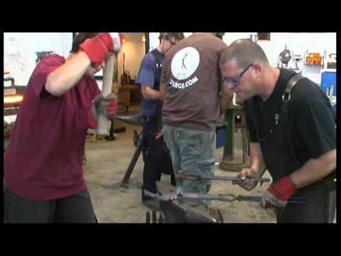 Israel's blacksmith champ [video]