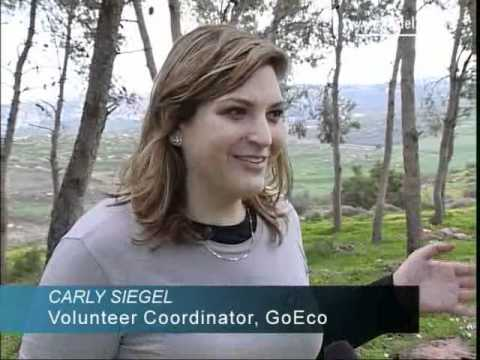 GoEco brings 'voluntourists' to Israel [video]