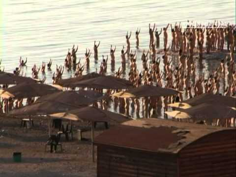 Going naked to save the Dead Sea [video]