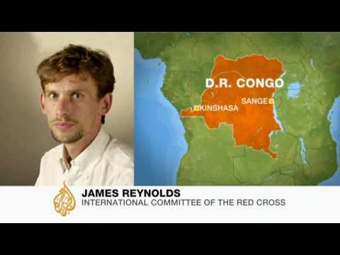 Israeli aid team first to reach the Congo