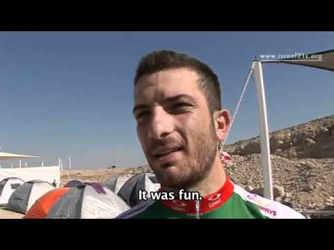 Dead Sea is backdrop for extreme mountain bike race [video]