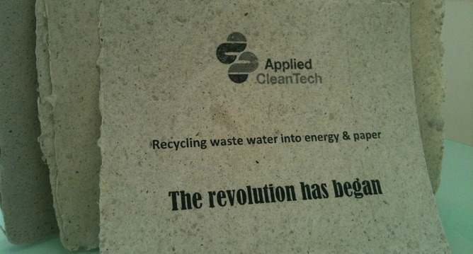 Applied Clean Tech paper