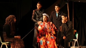 This was the first time a Bedouin troupe performed a Western-style play in Israel.