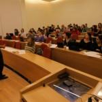 Ben Shahar lecturing