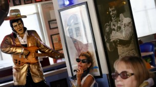 The Elvis Presley Holy Land Tour will focus mostly on Christian tourism, but the final evening will take place at the Elvis Inn outside Jerusalem. Photo by Michal Fattal/Flash 90