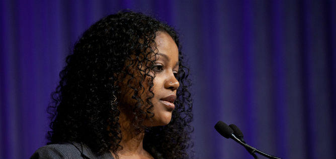 Pnina Gaday Agenyahu is the world's only Ethiopian-born Hillel director.
