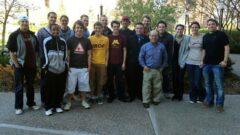 Prof. Marshak with his class