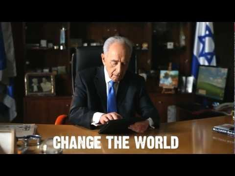 Shimon Peres, superstar