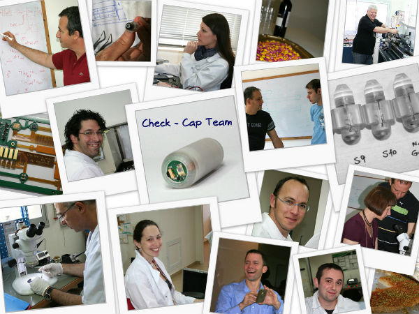 The Check-Cap team includes experts from several fields.