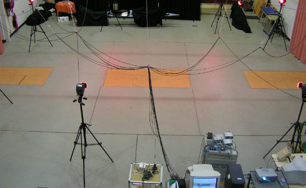 SensoGo will take gait analysis out of labs like this and into any doctor's office. Photo courtesy of Wikimedia Commons
