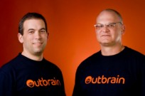 Co-founders Yaron Galai and Ori Lahav of Outbrain.