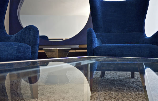"""Moshe Kastiel believes in classic furniture with contrasting details that """"whisper."""" Photo by Itay Sikolsky"""