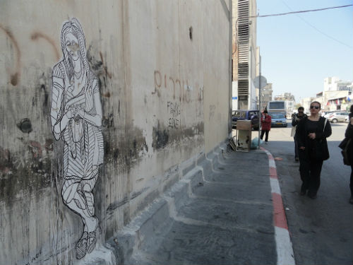 Street art in South Tel Aviv. Photo by Karin Kloosterman