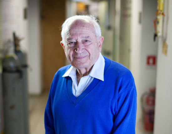 Mechoulam recently received a Rothschild Prize for his outstanding research in medical marijuana. Photo by Yoray Liberman