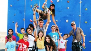 If a child with a chronic disease can conquer a climbing wall, she will feel she can conquer anything.