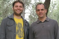 Eyal Ben-David (left) and Dr. Sagiv Shifman (right)