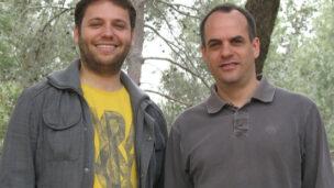 Eyal Ben-David (left) and Dr. Sagiv Shifman (right)