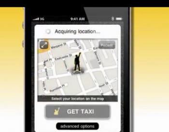 GetTaxi app
