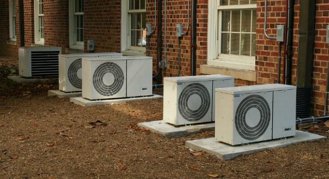 With Panoramic Power, users can see exactly how much electricity is being used by power hungry devices like air conditioners. Photo courtesy of Wikipedia.