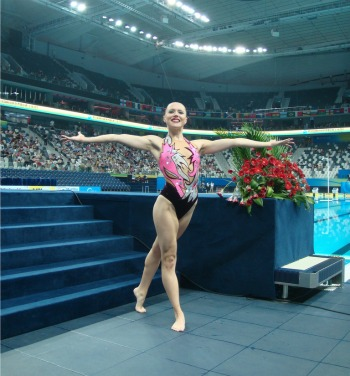 Anastasia Gloushkov, Olympic synchronized swimmer.