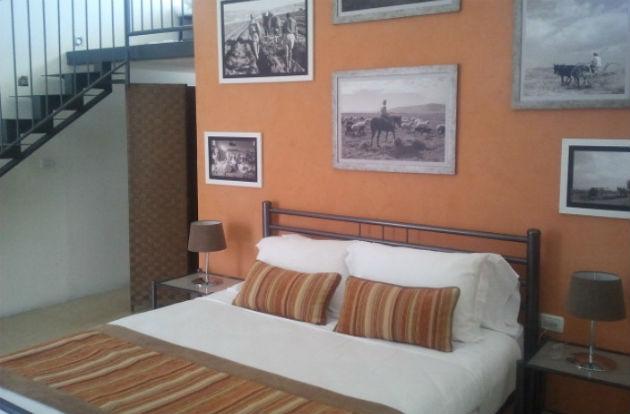 A duplex suite at the inn.