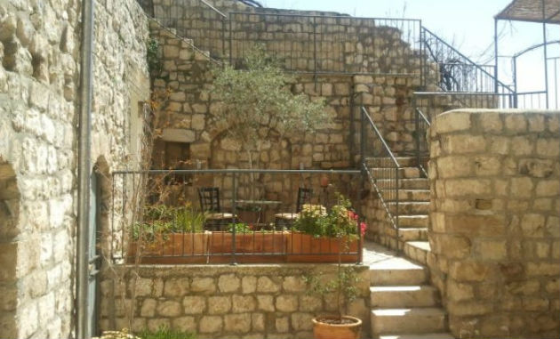 The Artists' Colony Inn is situated among the winding alleys of Safed's Old City.