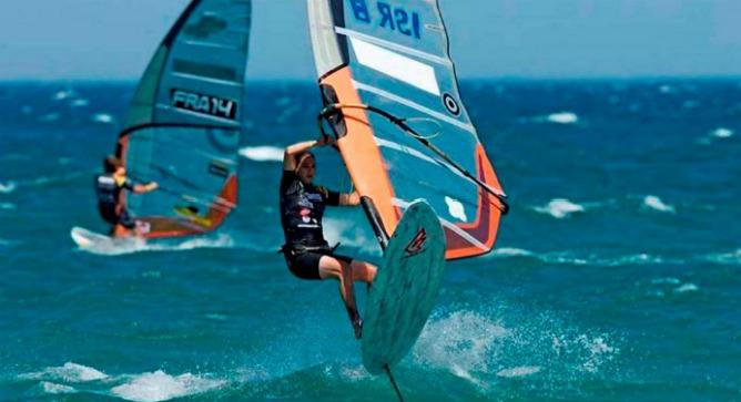 Windsurfer Lee Korzits is likely to climb the podium.