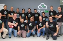 The CloudOn team. Engineering VP Meir Morgenstern is third from left in top row.