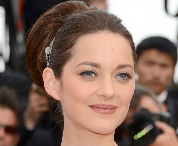 Marion Cotillard styled with Moroccanoil.
