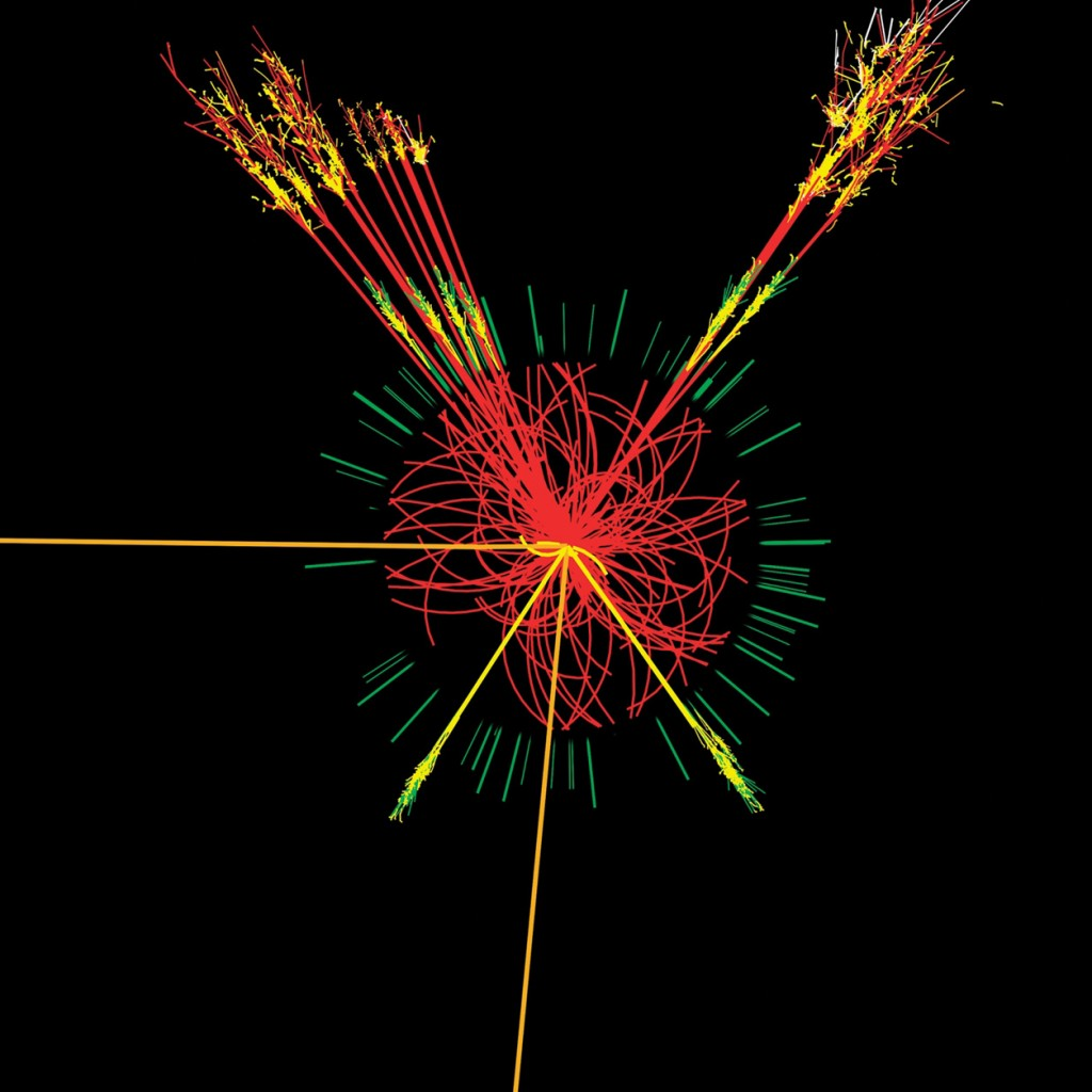CERN scientists believe they've found the Higgs boson.