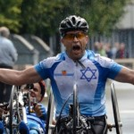 Nati Gruberg is the top handcyclist in Israel.