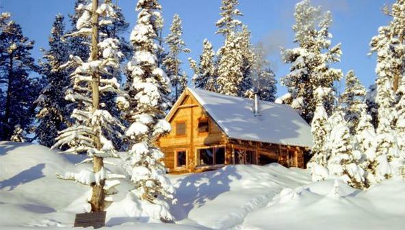 "Nuk Tessli, Erel's new ""base camp"" in the wilds of Canada."