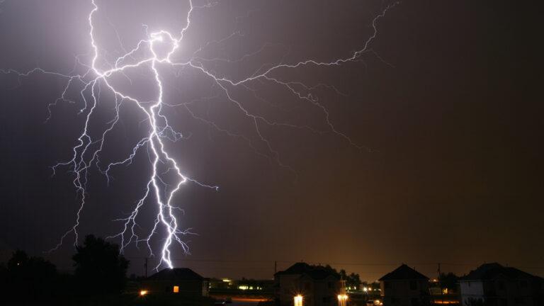 Lightning Image via Shutterstock.
