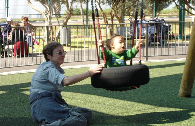 Friendship Park in Ra'anana. (Courtesy of Beit Issie Shapiro)