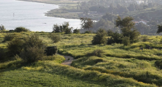 The Israel Trail takes in some of Israel's most stunning scenery, with landscapes changing dramatically from desert to verdant hills. Photo by Flash90.