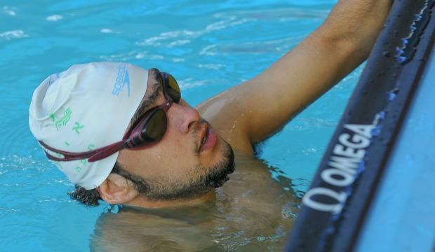 Swimmer Iyad Shalabi