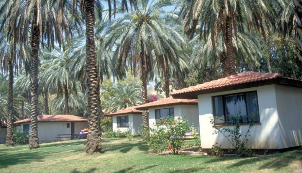 Kibbutz Ein Gev guesthouses. Photo courtesy of Israel Tourism Ministry