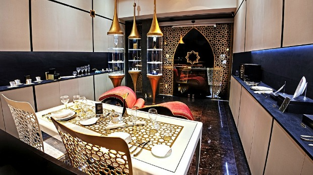 Inside the new Doron Merdinger shop on Kikar Hamedina.