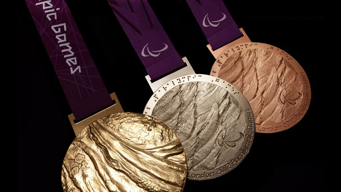 Israeli athletes hope to bring home London 2012 Paralympic gold, silver and bronze medals. (London2012.com)