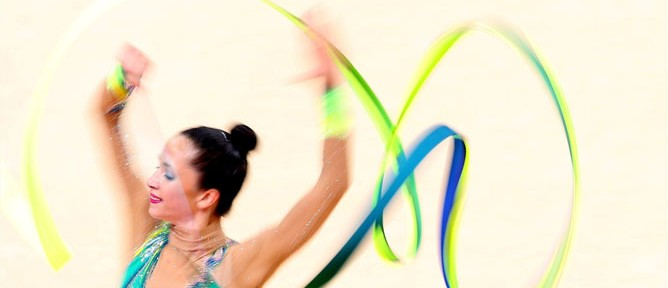 Neta Rivkin made Olympic history for Israel's rhythmic gymnastics field.