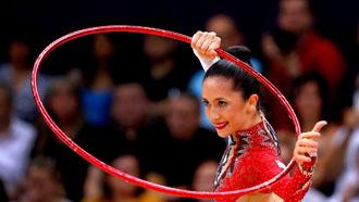 Neta Rivkin performs at Olympics 2012.
