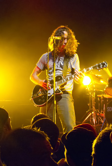 Soundgarden at Lollapalooza. (Daniel DeSlover/Shutterstock.com)